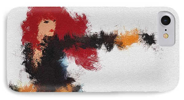 Agent Red IPhone Case by Miranda Sether
