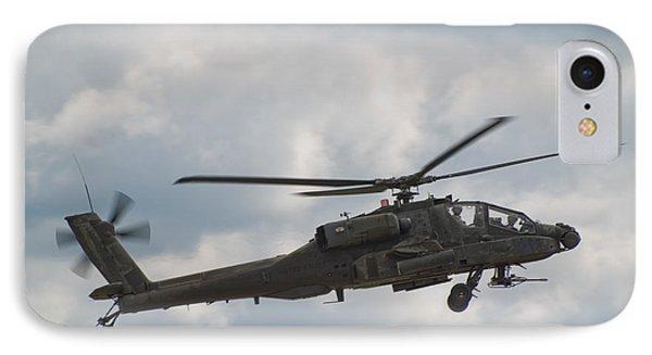 Ah-64 Apache IPhone Case by Sebastian Musial
