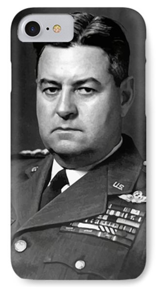 Air Force General Curtis Lemay  Phone Case by War Is Hell Store