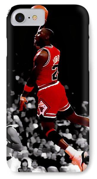 Air Jordan Flight Path IPhone Case by Brian Reaves