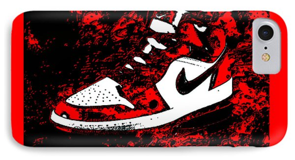 Air Jordan I Notorious IPhone Case by Brian Reaves