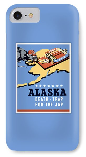 Alaska Death Trap IPhone Case by War Is Hell Store