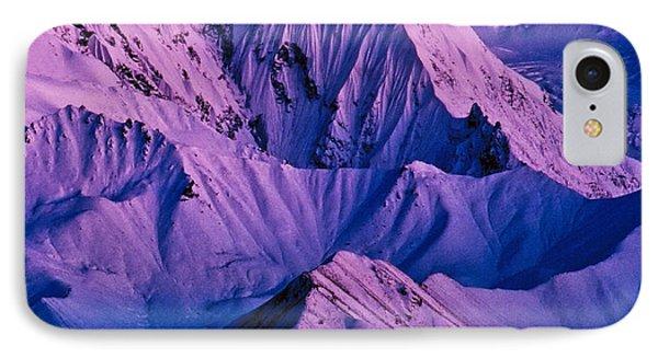 Alaska Range Twilight Phone Case by Tim Rayburn