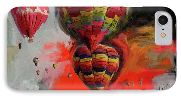 Albuquerque International Balloon Fiesta 4 255 1 IPhone Case by Mawra Tahreem