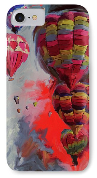 Albuquerque International Balloon Fiesta 4 255 2 IPhone Case by Mawra Tahreem