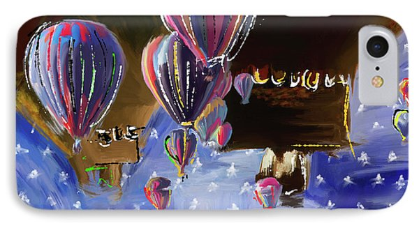 Albuquerque International Balloon Fiesta 5 256 1 IPhone Case by Mawra Tahreem