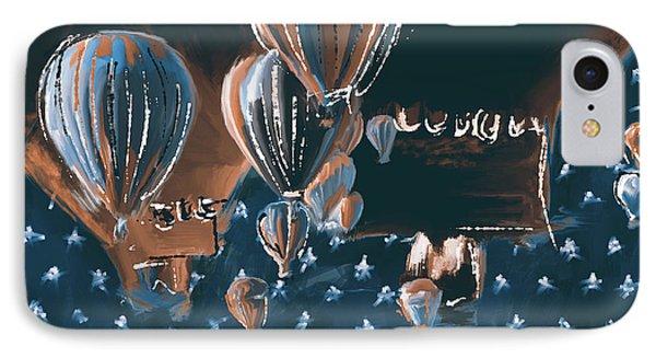 Albuquerque International Balloon Fiesta 5 256 2 IPhone Case by Mawra Tahreem