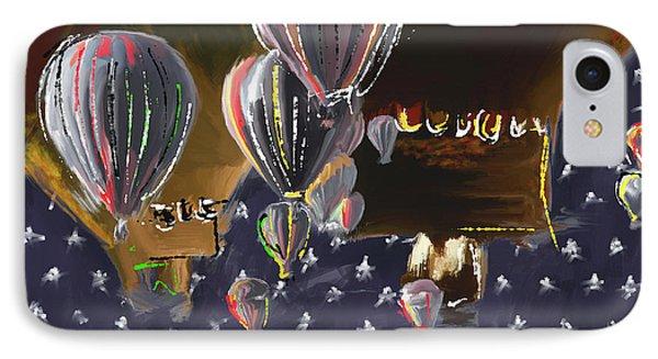 Albuquerque International Balloon Fiesta 5 256 3 IPhone Case by Mawra Tahreem