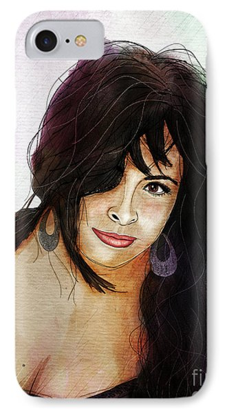 Alessandra Volpe IPhone Case by Gary Bodnar