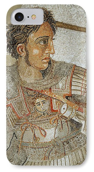 Alexander The Great IPhone Case by Roman School