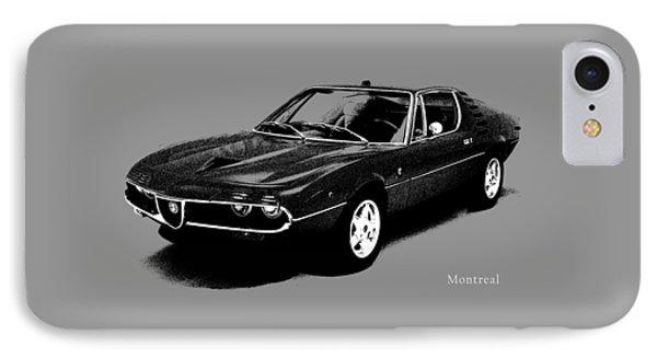 Alfa Romeo Montreal IPhone Case by Mark Rogan