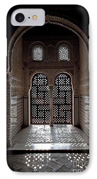 Alhambra Window IPhone Case by Jane Rix