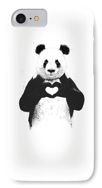 All You Need Is Love IPhone Case by Balazs Solti