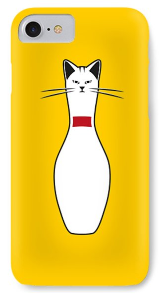 Alley Cat IPhone 7 Case by Nicholas Ely