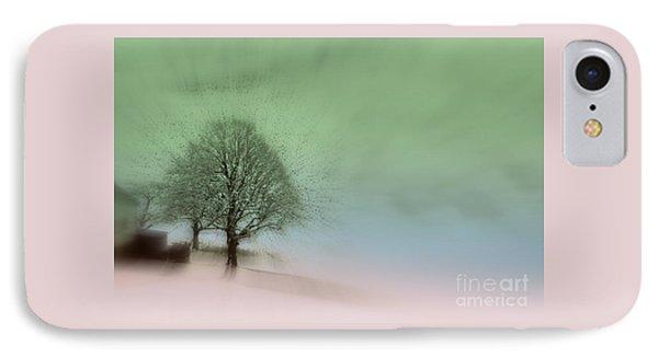 Almost A Dream - Winter In Switzerland IPhone Case by Susanne Van Hulst
