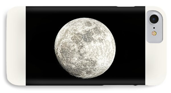 Almost A Full Moon IPhone Case by Sharon McConnell