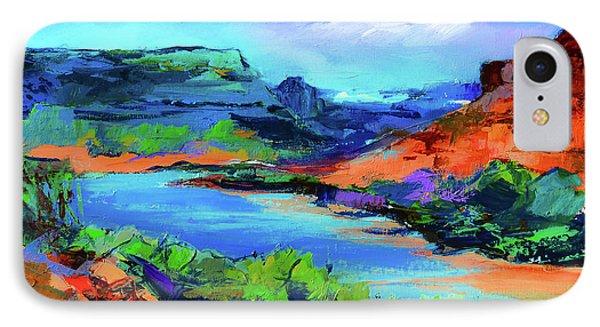 Along Colorado River - Utah IPhone Case by Elise Palmigiani