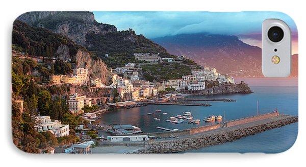 Amalfi Sunrise IPhone Case by Brian Jannsen