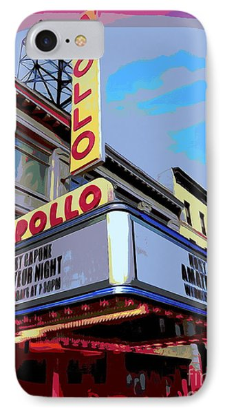 Amateur Night At The Apollo IPhone Case by Ed Weidman