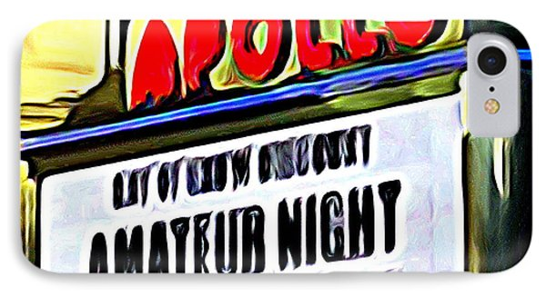 Amateur Night IPhone 7 Case by Ed Weidman