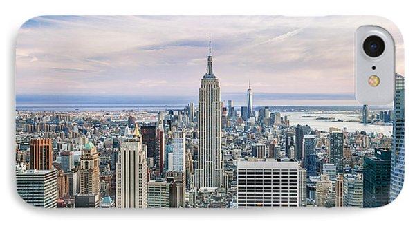 Amazing Manhattan IPhone Case by Az Jackson