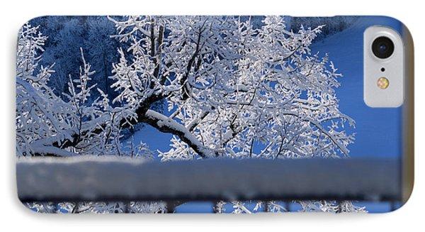 Amazing - Winterwonderland In Switzerland IPhone Case by Susanne Van Hulst