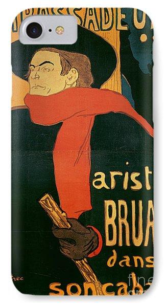 Ambassadeurs IPhone Case by Henri de Toulouse-Lautrec