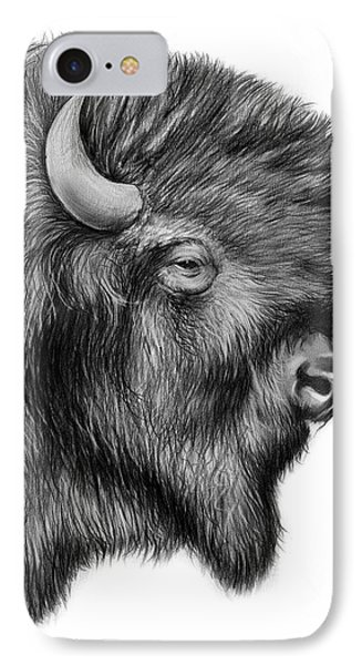 American Bison IPhone Case by Greg Joens