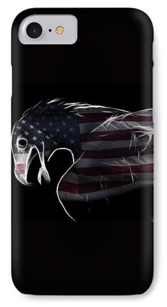 American Eagle Phone Case by Melanie Viola
