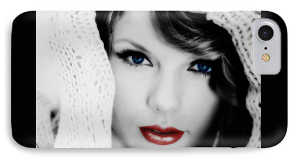 American Girl Taylor Swift IPhone 7 Case by Brian Reaves