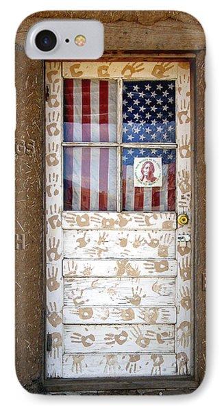 American Native Finger Prints Phone Case by Kurt Van Wagner
