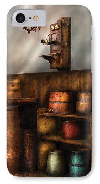 Americana -  In The Corner Of The General Store  Phone Case by Mike Savad