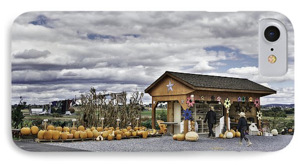 Amish Farm IPhone Case by Eduard Moldoveanu