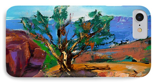 Among The Red Rocks - Sedona IPhone Case by Elise Palmigiani