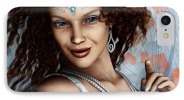 Amorous Phone Case by Jutta Maria Pusl