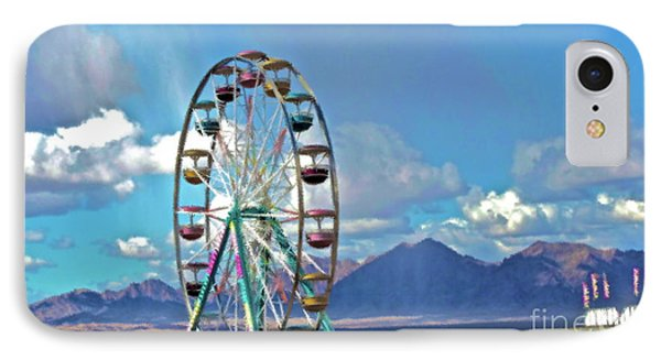 Amusement View Phone Case by Gwyn Newcombe