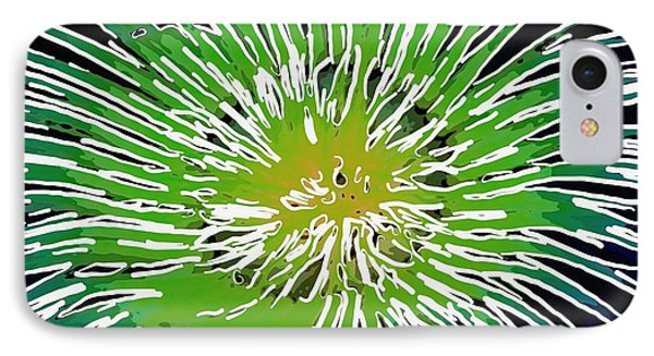 An Abstract Scene Of Sea Anemone 2 Phone Case by Lanjee Chee