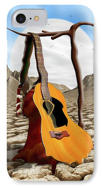 An Acoustic Nightmare IPhone 7 Case by Mike McGlothlen