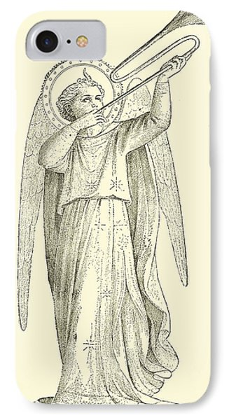 An Angel IPhone Case by Fra Angelico