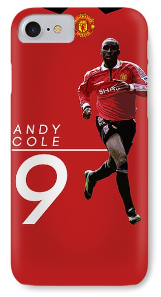 Andy Cole IPhone 7 Case by Semih Yurdabak