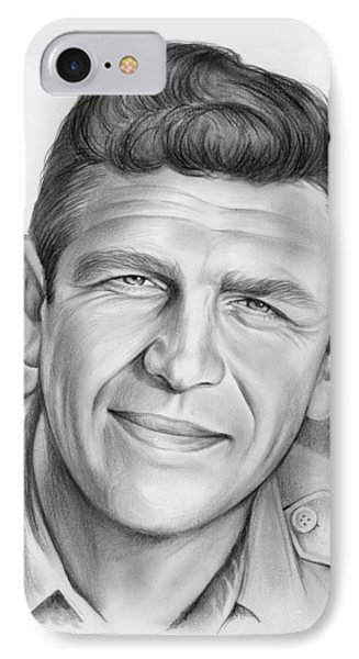 Andy Griffith IPhone Case by Greg Joens