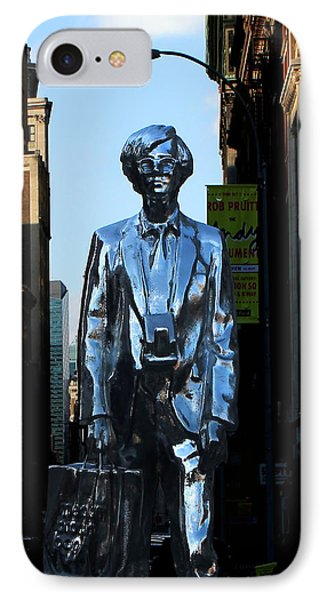 Andy Warhol New York Phone Case by Andrew Fare