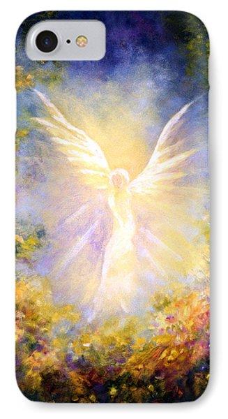Angel Descending IPhone Case by Marina Petro