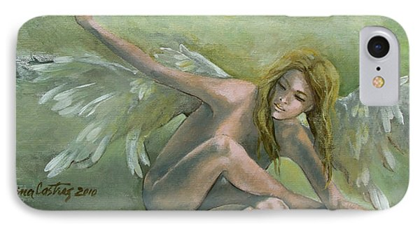 Angel Phone Case by Dorina  Costras
