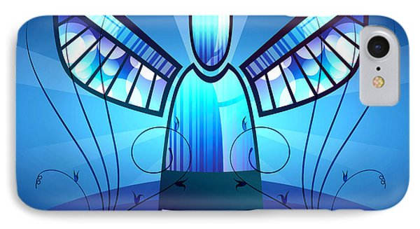Angel Glass IPhone Case by Georgiana Romanovna