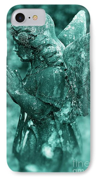 Angel Prayer Phone Case by John Greim
