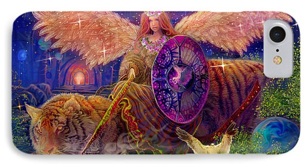 Angel Tarot Card Angel Fairy Dream IPhone 7 Case by Steve Roberts