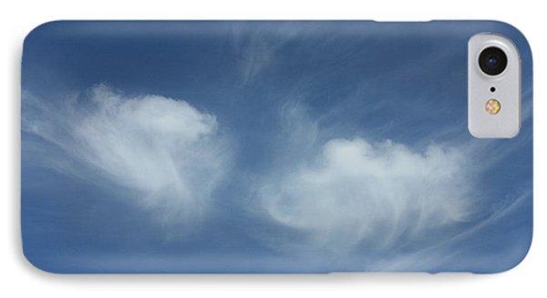 Angel Wings In The Sky Phone Case by Carol Groenen