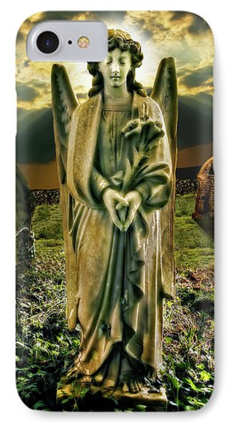 Angelic Light In Color Phone Case by Meirion Matthias