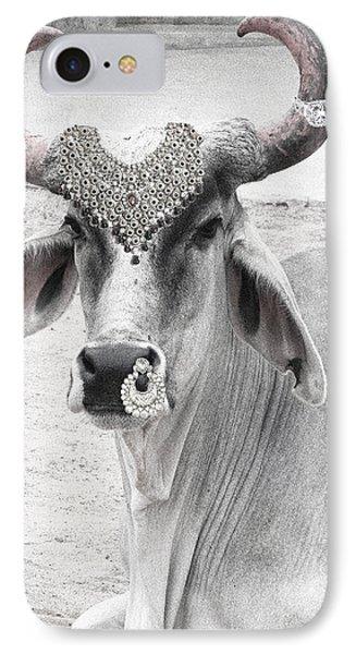 Animal Royalty 6 IPhone Case by Sumit Mehndiratta
